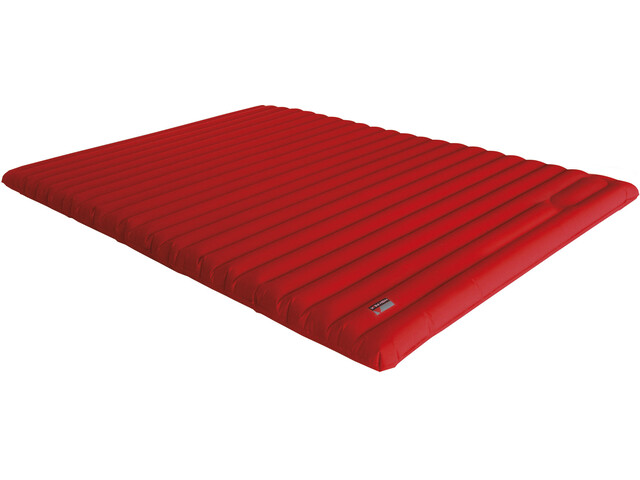 High Peak Dallas Twin Comfort Mattress red